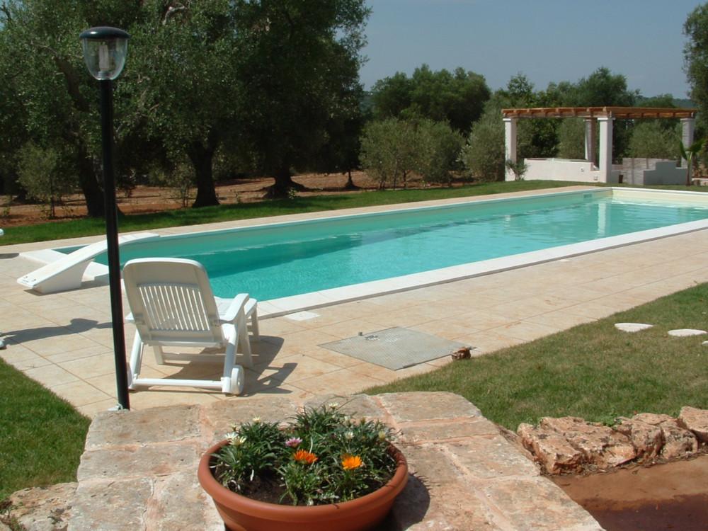 Piscina privata nell'oliveto - Laqua sas