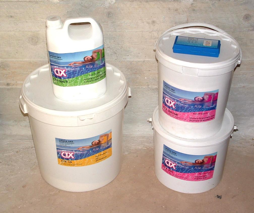 Trattamento chimico dell'acqua-Laqua